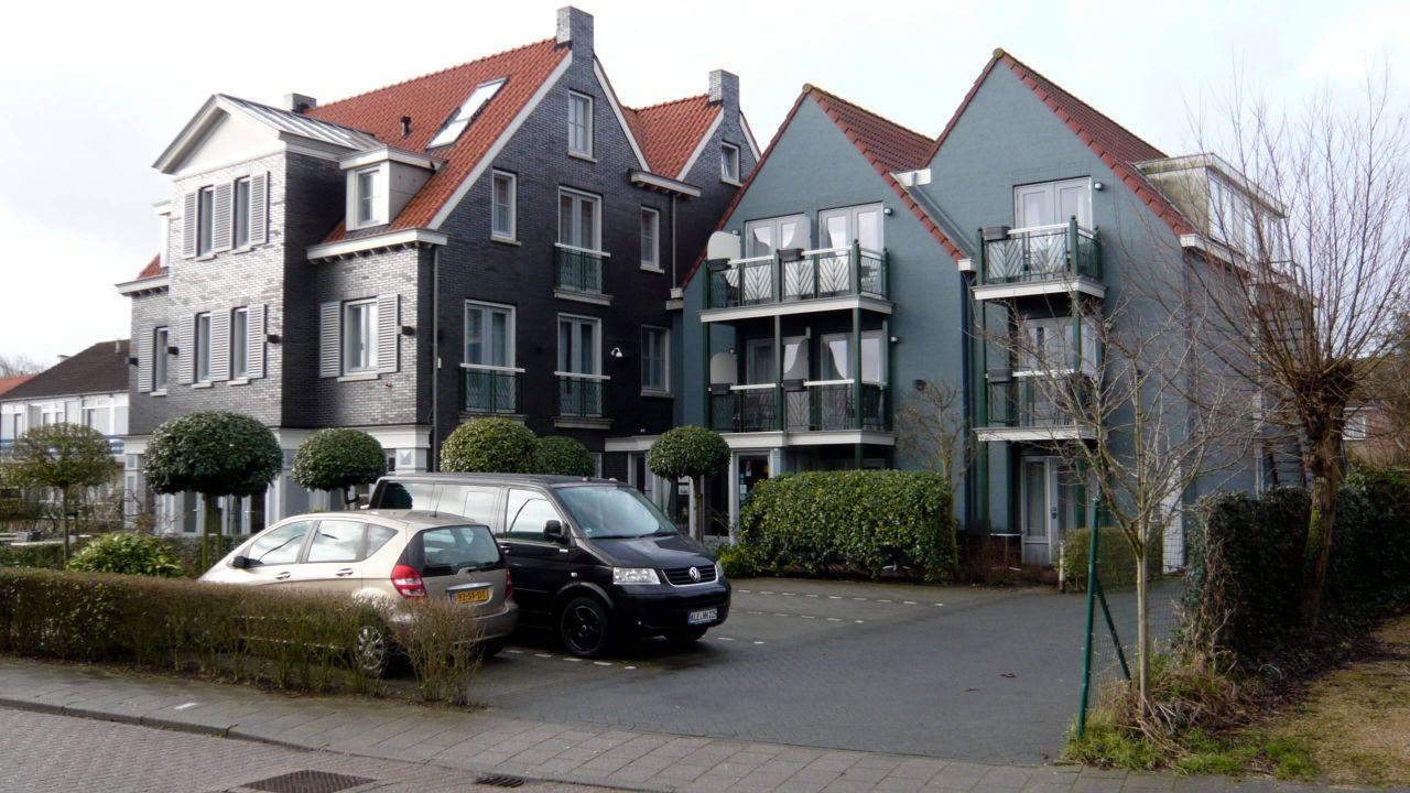Hotel in Den Brouwery VisitDomburg - foto van buitenkant van het hotel