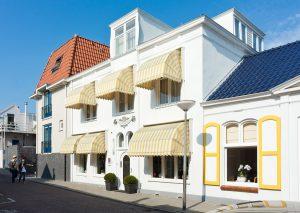 Hotel Wilhelmina VisitDomburg - foto van het hotel aan buitenzijde