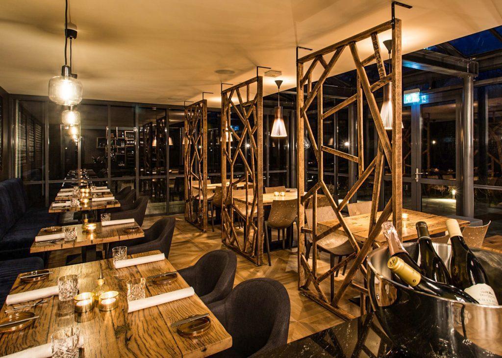 Restaurant Mezger VisitDomburg - foto van binnen bij het restaurant