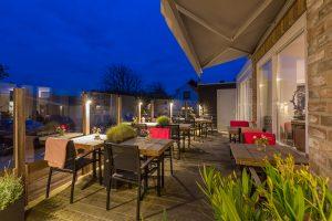 Hotel restaurant Duinlust op VisitDomburg - foto van terras