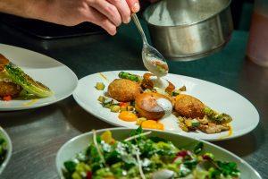Restaurant Duinlust VisitDomburg - foto van gerecht in restaurant