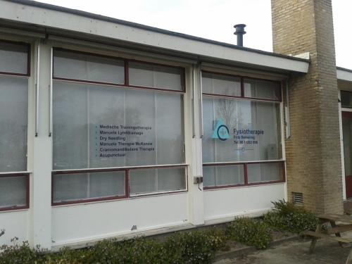 Frits Berveling fysiotherapie VisitDomburg - foto van voorzijde praktijk