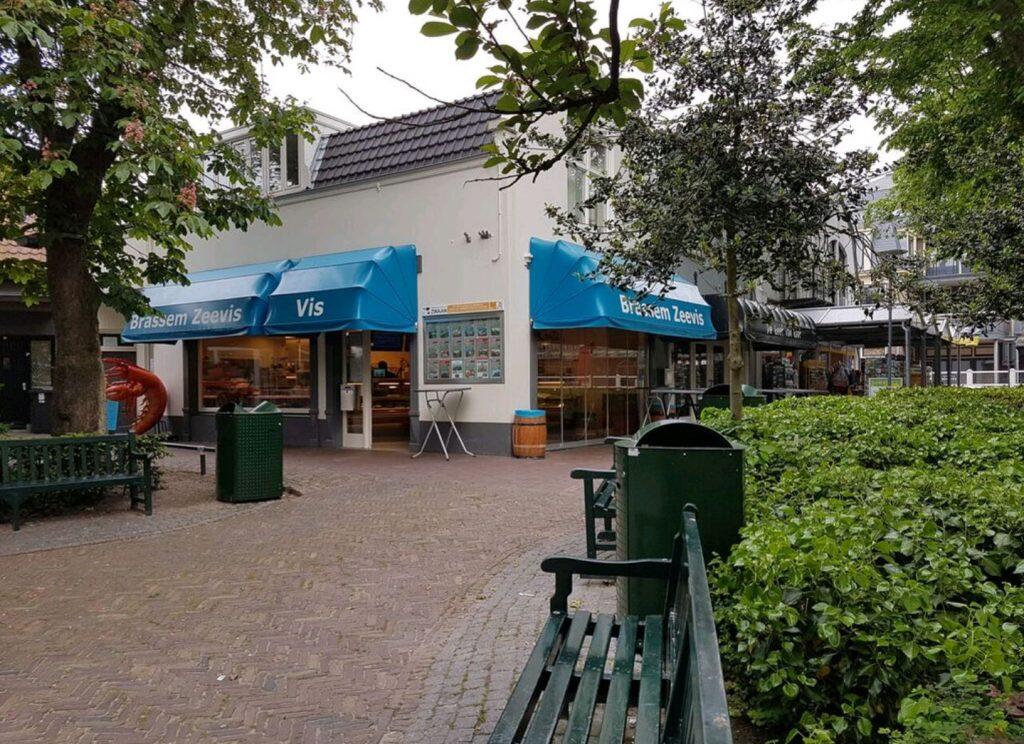 Zeevishandel Brassem op VisitDomburg - foto van de buitenkant