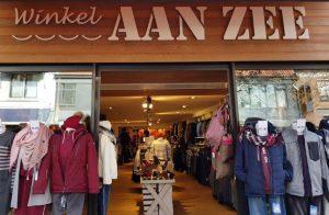 Winkel aan zee VisitDomburg - foto voorkant van winkel