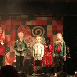 Sint zoekt talentshow VisitDomburg - foto van deelnemers op het podium na hun optreden