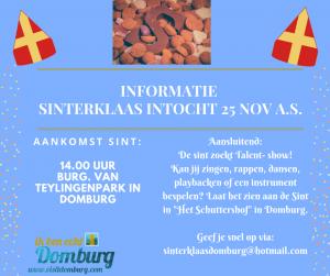 [:nl]Sinterklaasintocht in Domburg[:] @ Burgemeester van Teylingenpark