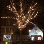 Domburg in de winter - Domburg foto's - Winter sfeerverlichting VisitDomburg op foto