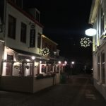 Domburg foto's - Winterversiering VisitDomburg - -foto van sfeerverlichting in dorp Domburg