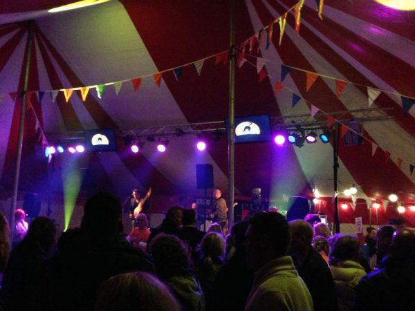 Oranjebal in Domburg 26 april 2018