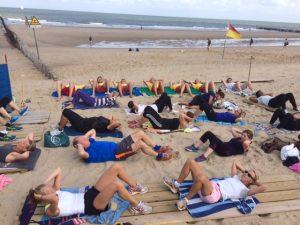 Beachfitness met Miriam in Domburg - evenementen in Domburg en blog op VisitDomburg