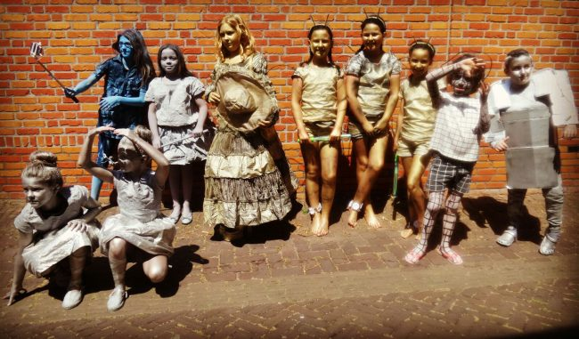 Statue Festival Domburg - Ook kinderen kunnen deelnemen - VisitDomburg