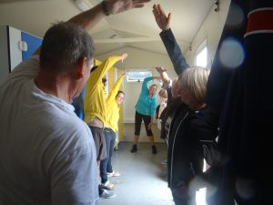 Beachfitness met Miriam in Domburg - oefeningen bij slecht weer - evenementen in Domburg en blog op VisitDomburg
