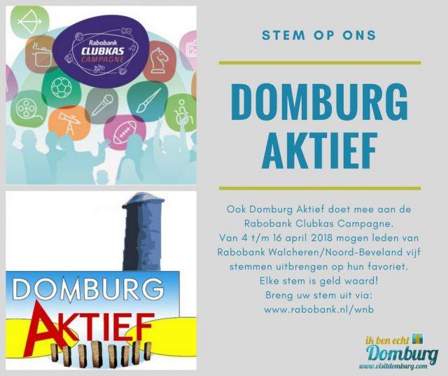 Stem op Domburg Aktief - VisitDomburg