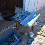 Schildersweek Domburg 2018 - schilders aan het werk op strand - VisitDomburg