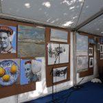 Schildersweek Domburg 2018 - schilderijen in tent voor Badhotel - VisitDomburg