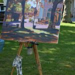 Schildersweek Domburg 2018 - schilderij van Badhotel Domburg - VisitDomburg