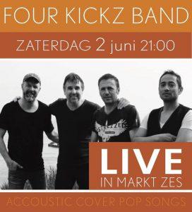 [:nl]Four Kickz Band bij Markt Zes[:] @ Markt Zes Domburg
