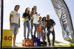 Kids Surf Fest Domburg - Prijsuitreiking tijdens evenement in 2017