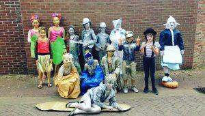 Succesvol Statue Festival Domburg 2018 - Kids Statues - VisitDomburg